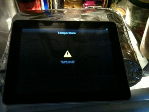 Parece que el iPad de Apple se calienta