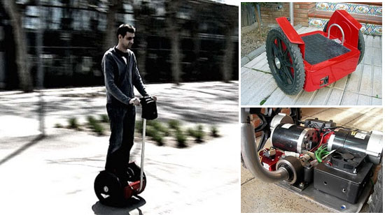 Segway casero - Made in Spain -