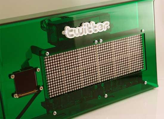 TweetWall: Cliente de Twitter con Arduino