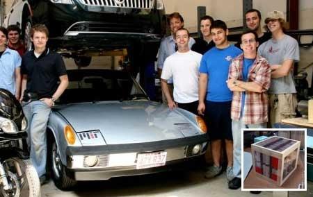elEven: Un coche eléctrico que se recarga en 11 minutos