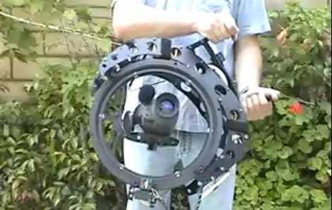 Estabilizador de cámara con giroscopio de 3 ejes