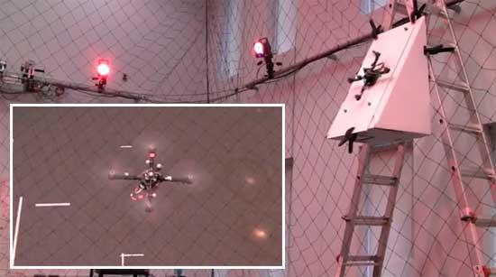 Maniobras casi imposibles con un Quadcopter