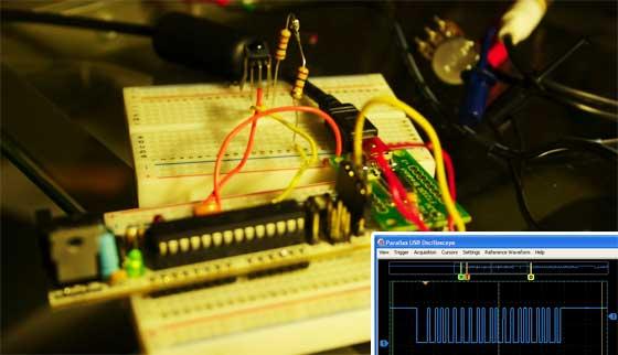 Receptor de infrarojos casero universal con Arduino