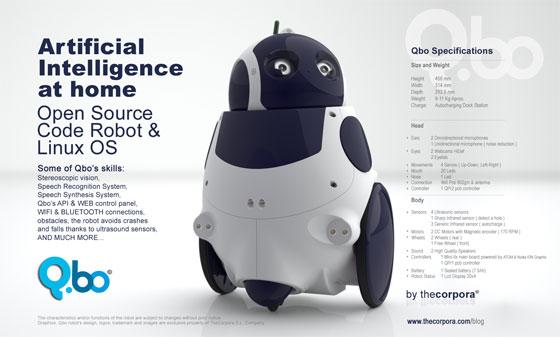 QBO: Robot Open Source con Linux