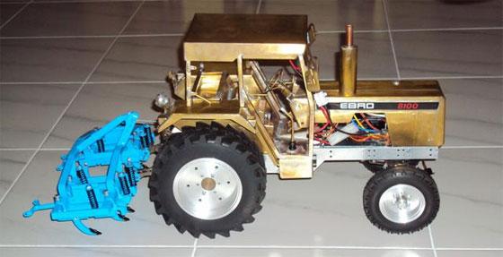 Tractor de radio control casero desde cero
