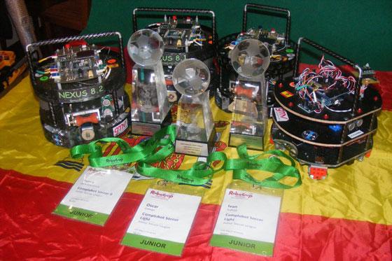 CompluBot en la RoboCup Junior 2010 de Singapur