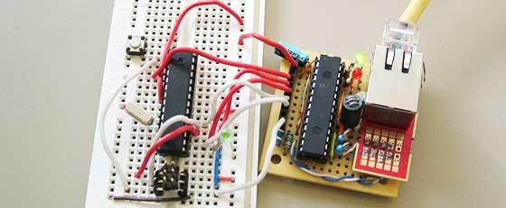Conexión de red ethernet con ENC28J60