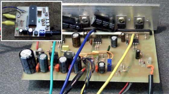 Controlador de motores Brushless casero
