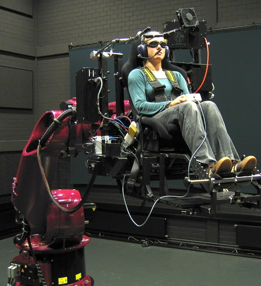 Simulador de F1 con robot KUKA