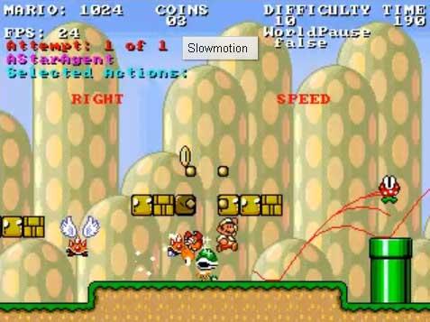 Mario Bros y la Inteligencia Artificial