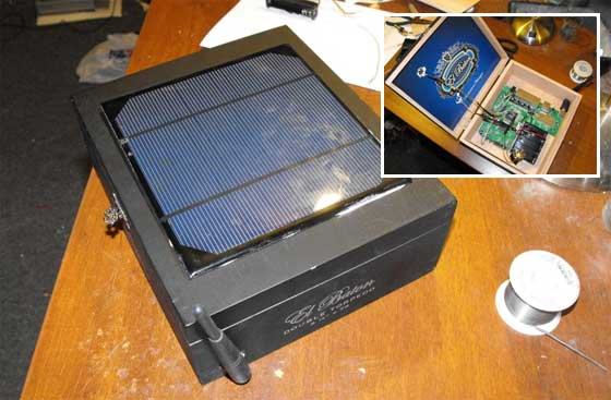 HotSpot casero alimentado con energía solar