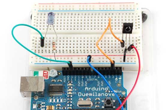 Lector de códigos IR con Arduino