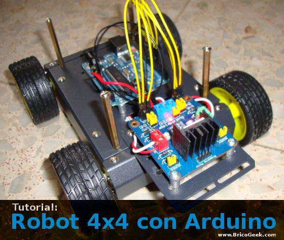 Tutorial: Robot 4x4 con Arduino