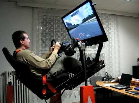 Motion Sim: El simulador de coches casi real