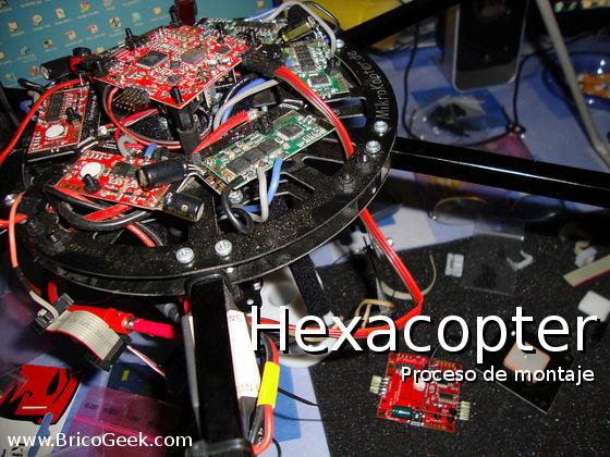 Proceso de montaje de un Hexacopter