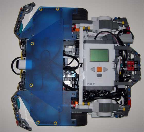 Robot Roomba casero con LEGO NXT