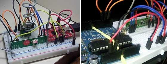 Transmisión inalámbrica de datos con Arduino usando checksum