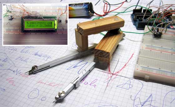 Calibre digital casero con Arduino