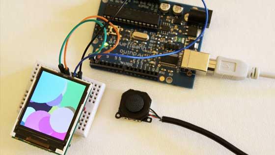 SmartLCD: Pantalla LCD gráfica con ARM Cortex M0