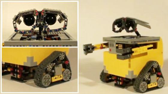 Robot Wall-E hecho con LEGO NXT