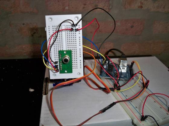 Escáner termal con Arduino
