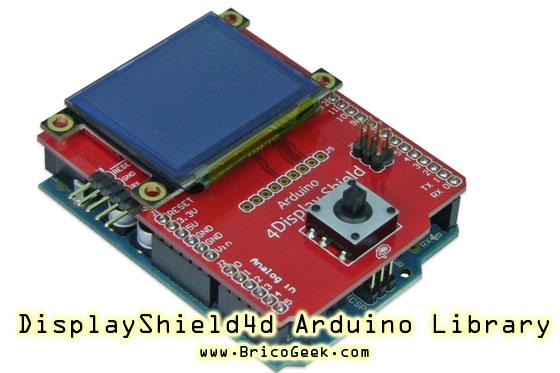 Librería 4Display-Shield para Arduino