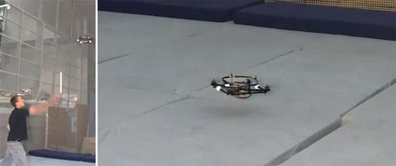 Quadcopter: Más maniobras imposibles
