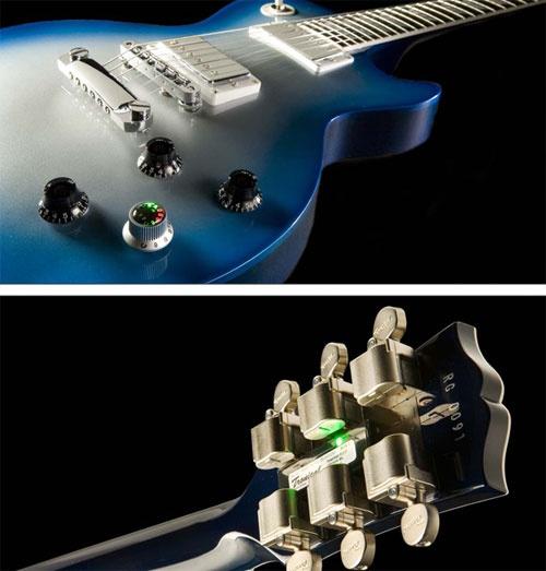(Video) Guitarra electrónica que se afina sola