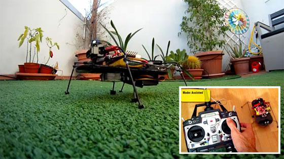 ArduSpider: Papa, puedes hacer un robot para mi?