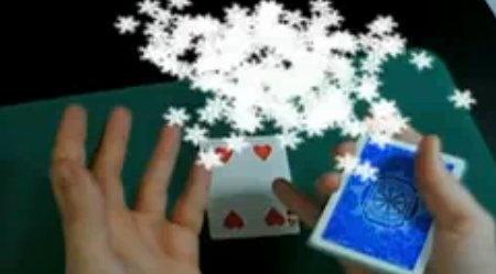 Truco de cartas con realidad aumentada