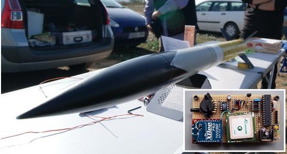 Telemetría para cohete amateur