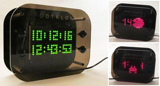 DOTKLOK: Bonito reloj Open Source con Arduino