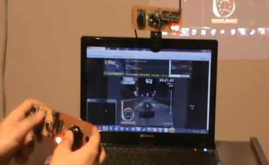 iTouch 3D - Mando casero sensible al movimiento