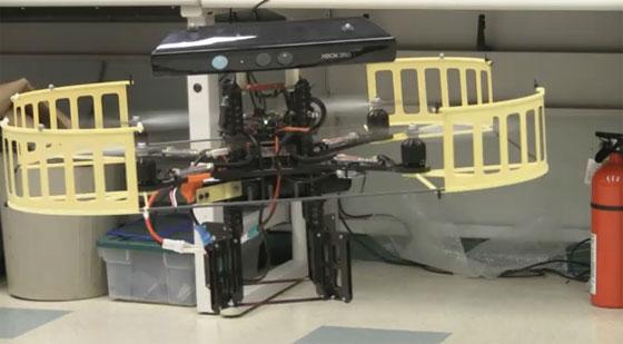Quadcopter: Evitar obstáculos con Kinect