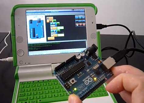 Minibloq: Entorno gráfico de programación para Arduino