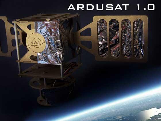 ArduSAT: Plataforma satelite para arduino