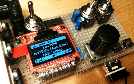 Reproductor casero de música SID (Commodore 64)