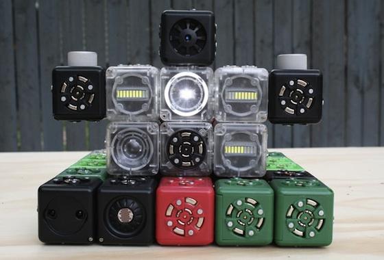 Cubelets, los cubos electrónicos