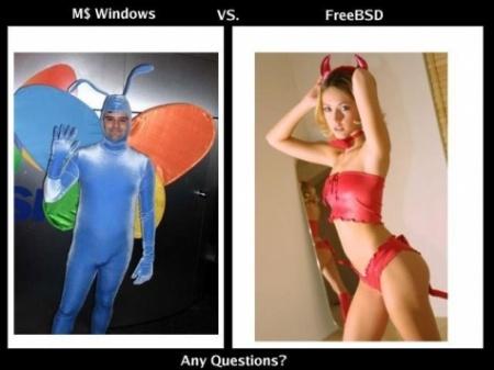 Comparación entre Windows Vista y Linux