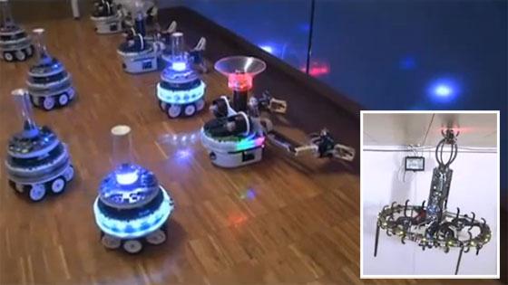 Swarmanoid: Inteligencia artificial llevada al límite