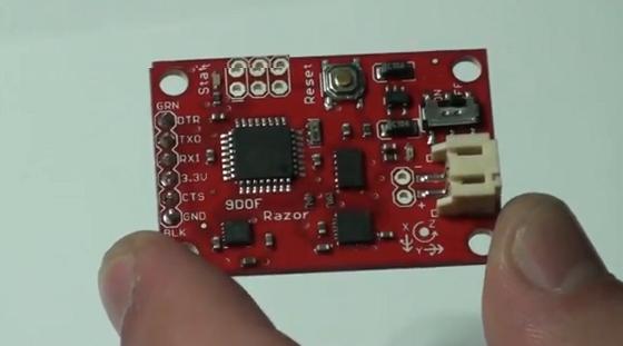 IMU Razor 9 DOF con AHRS y conexión USB
