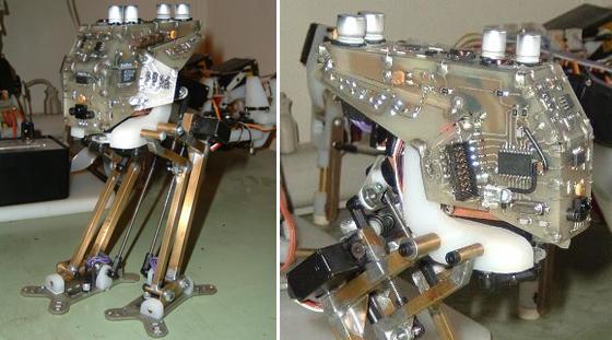 MiniMechadon: Robot bípedo que aprende