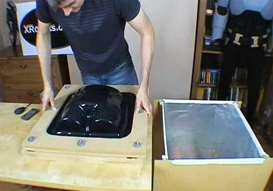 Cómo hacer una máquina moldeadora al vacío
