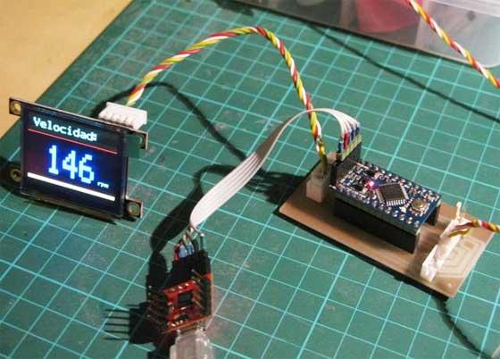 Tacómetro casero de alta precisión con Arduino