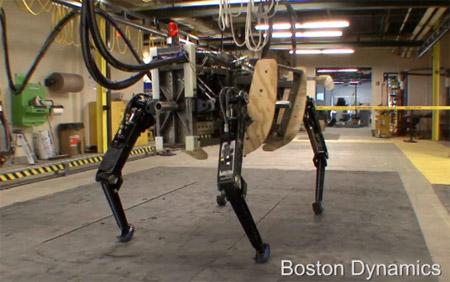 LS3 AlphaDog el nuevo robot cuadrúpedo de Boston Dynamics