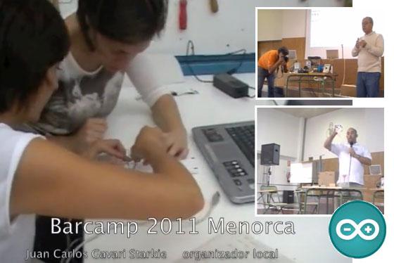 Resumen Arduino Barcamp Menorca 2011