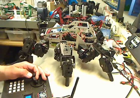 Multiemisora casera para robótica