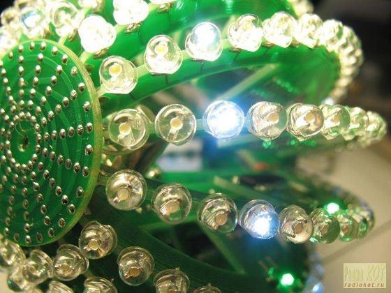 Bola mágica con 256 diodos LED