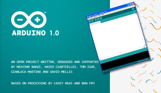 Arduino IDE 1.0 ya disponible