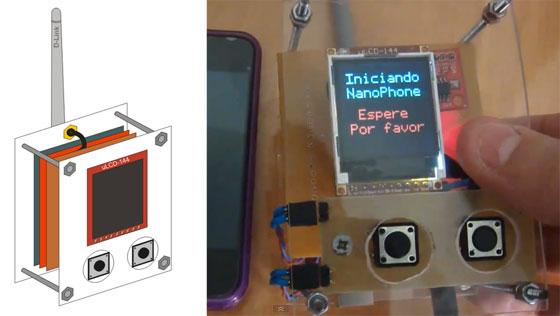 NanoPhone: Enviando SMS con Arduino